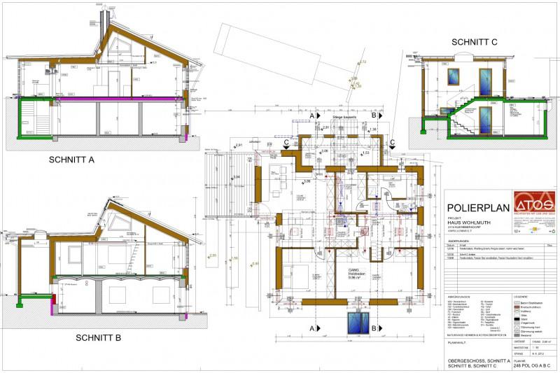 Ausführungsplanung Leistungen ATOS Architekt Heinrich Schuller