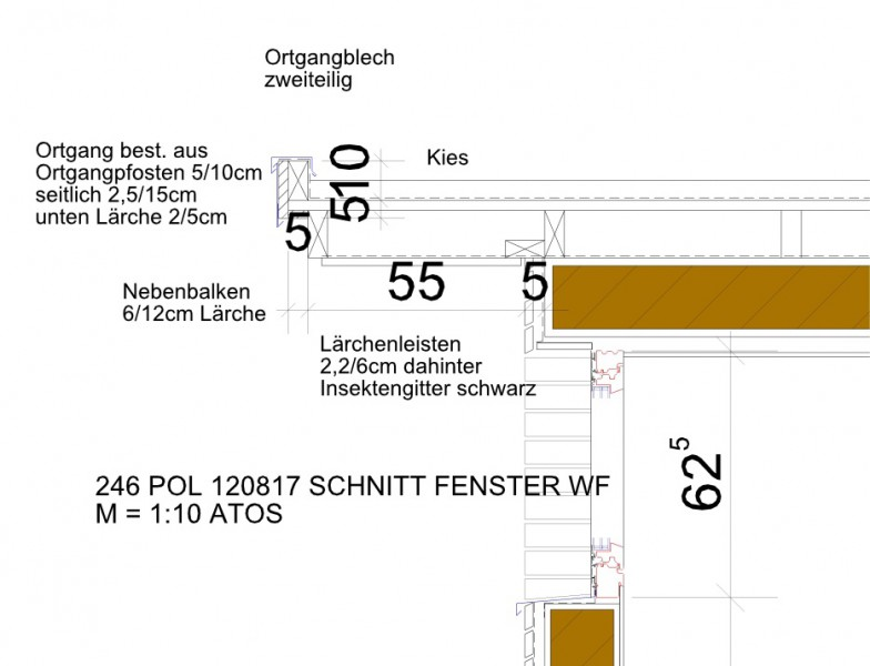 Detailplaung Leistungen ATOS Architekt Heinrich Schuller