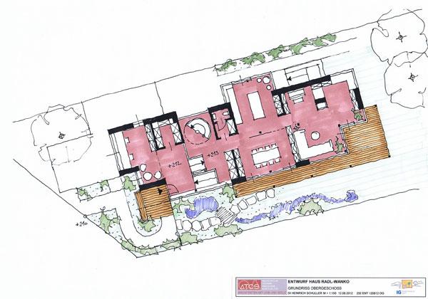 Entwurf Leistungen ATOS Architekt Heinrich Schuller