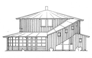 Rondo-Einfamilienhaus