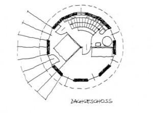 Rondo-Kleingartenhaus-Dachgeschoß